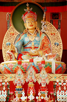 Guru Rinpoche - Shrine