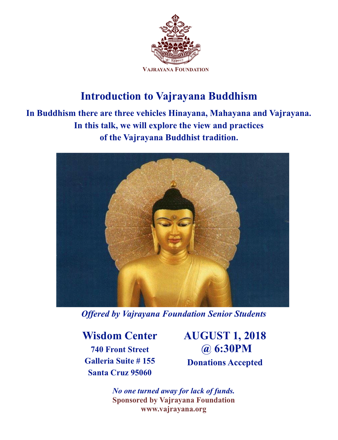 Introduction to Vajrayana Buddhism